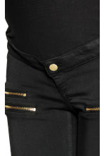MAMA Treggings tipo biker - Nero - DONNA | H&M IT 4