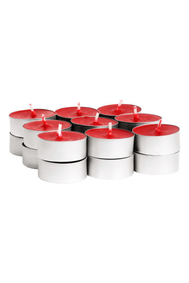 18-pack scented tealights - Red/Cinnamon Spice - Home All | H&M IE 1