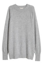 Cashmere jumper - Grey marl - Ladies | H&M CN 2