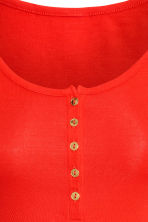 MAMA Jersey top - Bright red - Ladies | H&M 3