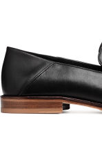 Leather Loafers with Tassels - Black - Men | H&M CA 4