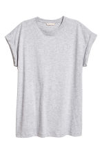 Jersey top - Grey - Ladies | H&M 2