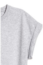 Jersey top - Grey - Ladies | H&M 3