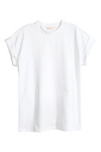 Tricot T-shirt - Wit - DAMES | H&M BE 2