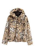 Faux fur jacket - Leopard print - Ladies | H&M 2