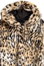 Faux fur jacket - Leopard print - Ladies | H&M 3