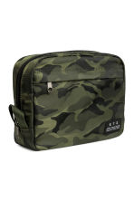 Patterned wash bag - Khaki green/Patterned - Men | H&M 2