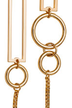 Long earrings - Gold - Ladies | H&M 2