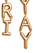 Long earrings - Gold-coloured - Ladies | H&M 2