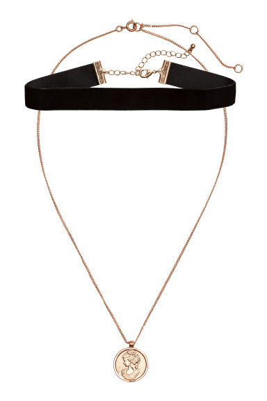 2-pack chokers - Gold-coloured/Black - Ladies | H&M 1