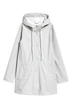 Rain coat - Light grey - Ladies | H&M 2