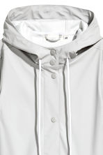 Rain coat - Light grey - Ladies | H&M 3
