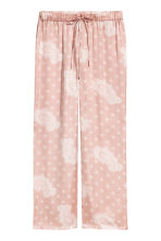 Satin pyjama bottoms - Pink - Ladies | H&M 2