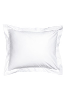 Cotton satin Oxford pillowcase