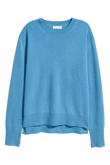 Cashmere jumper - Light blue - Ladies | H&M