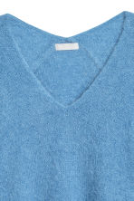 Mohair-blend jumper - Light blue - Ladies | H&M GB 3