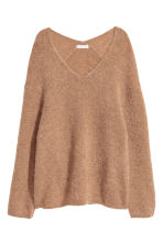 Mohair-blend jumper - Camel - Ladies | H&M 2