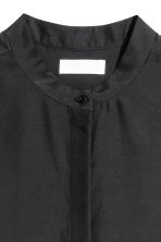 Silk blouse - Black - Ladies | H&M GB 3