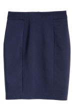 Short skirt - Dark blue - Ladies | H&M 1