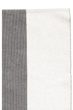 Tapis color block en coton - Rose clair/gris - Home All | H&M FR 2