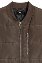 Padded gilet - Khaki green - Men | H&M 3