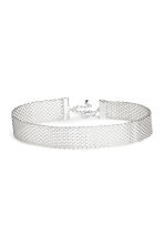 Metal choker - Silver - Ladies | H&M CN 1