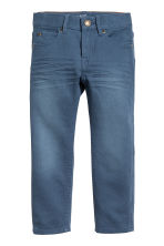 Cotton trousers - Blue -  | H&M CN 2