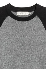 Fine-knit jumper - Dark grey/Black - Men | H&M GB 3