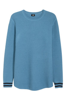 Textured Wool-blend Sweater