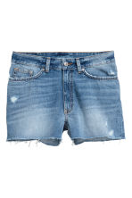 Denim shorts - Denim blue -  | H&M CA 2