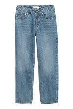Straight Regular Jeans - Denim blue - Ladies | H&M GB 3