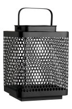 Large metal lantern - Anthracite grey - Home All | H&M IE 2