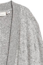 Fine-knit cardigan - Light grey - Ladies | H&M CN 3