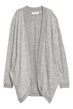 Fine-knit cardigan - Light grey - Ladies | H&M CN 2