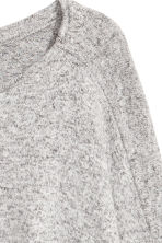 Fine-knit jumper - Grey marl - Ladies | H&M 3