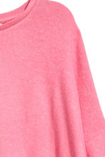 Fine-knit jumper - Pink marl - Ladies | H&M 3