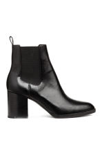 Ankle boots with elastic gores - Black - Ladies | H&M IE 1