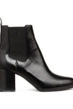 Ankle boots with elastic gores - Black - Ladies | H&M IE 4