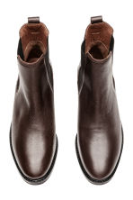 Leather Chelsea boots - Brown - Ladies | H&M 2