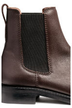 Leather Chelsea boots - Brown - Ladies | H&M 4