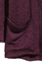 Fine-knit cardigan - Burgundy - Kids | H&M 3