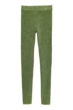 Leggings glitter - Verde/Glitter -  | H&M IT 2