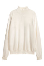 Trui met turtleneck - Gebroken wit - DAMES | H&M BE 1