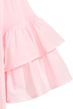 Jersey flounce-sleeved top - Light pink - Ladies | H&M 3