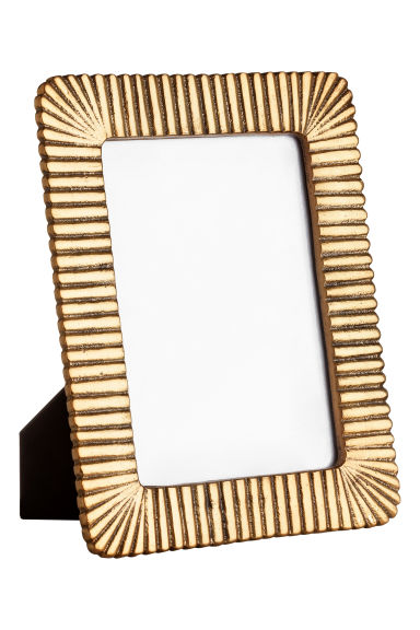 Metal photo frame - Gold-coloured - Home All | H&M IE