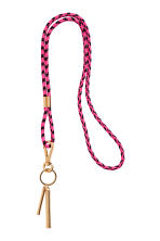 Lanyard - Cerise/Black - Ladies | H&M IE 1