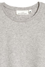 Cashmere-blend T-shirt - Grey marl - Ladies | H&M 3