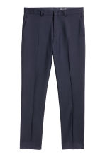 Wool suit trousers Regular fit - Dark blue - Men | H&M 2