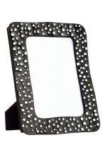 Metal photo frame - Black/White spotted - Home All | H&M CN 1