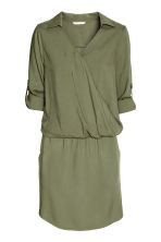 MAMA Nursing dress - Khaki green - Ladies | H&M 1